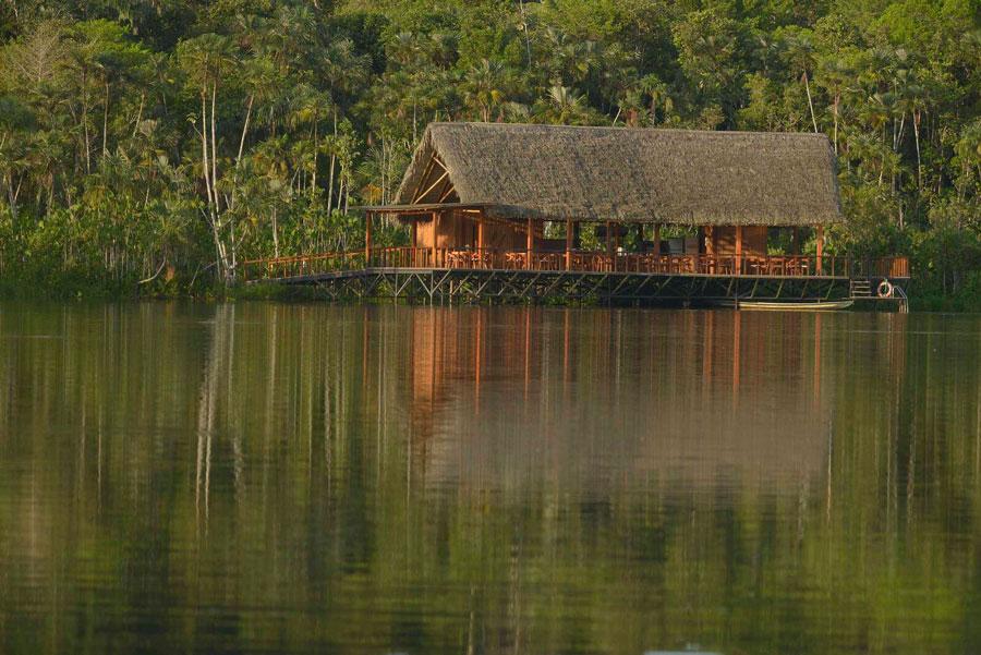 Sacha Lodge, Parc Yasuni, lagune