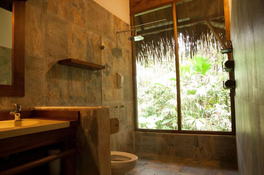 Sacha Lodge, Parc Yasuni, salle de bain