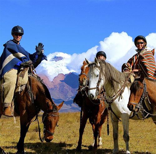 Séjour en Equateur: randonnée cheval