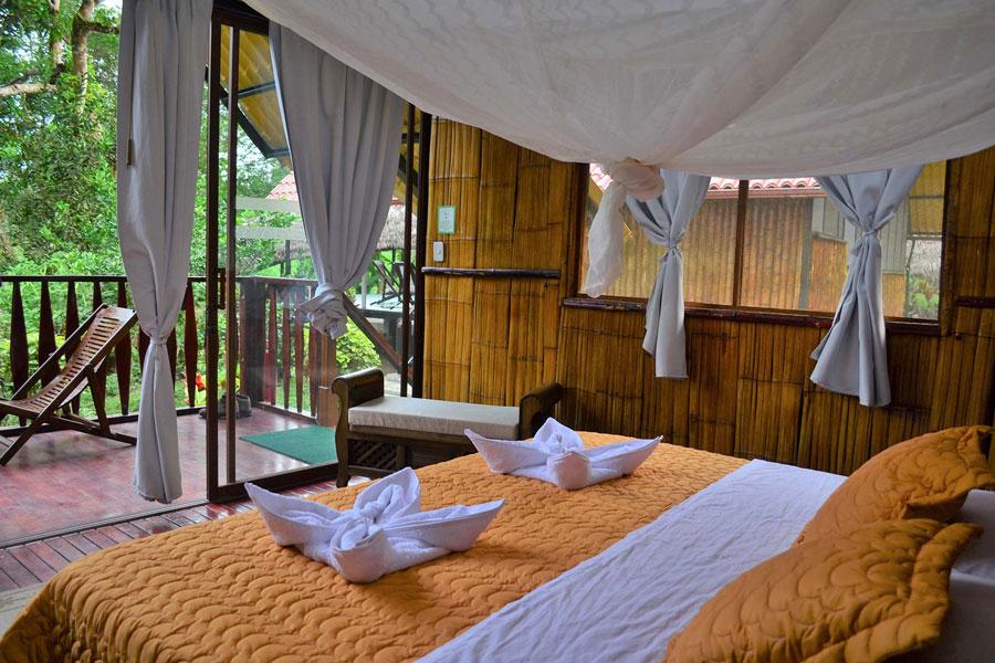 Yacuma Lodge, Amazonie, chambre