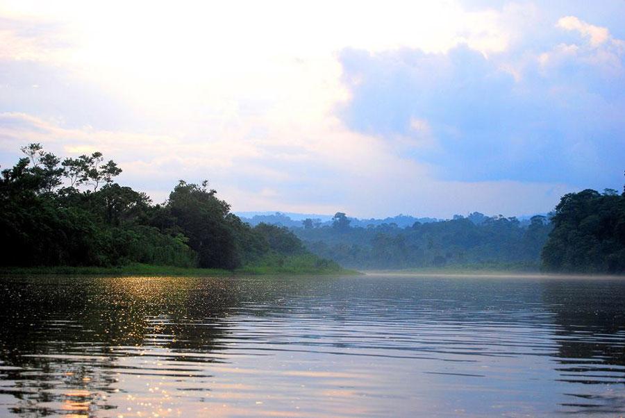Yacuma Lodge, Amazonie, rivière