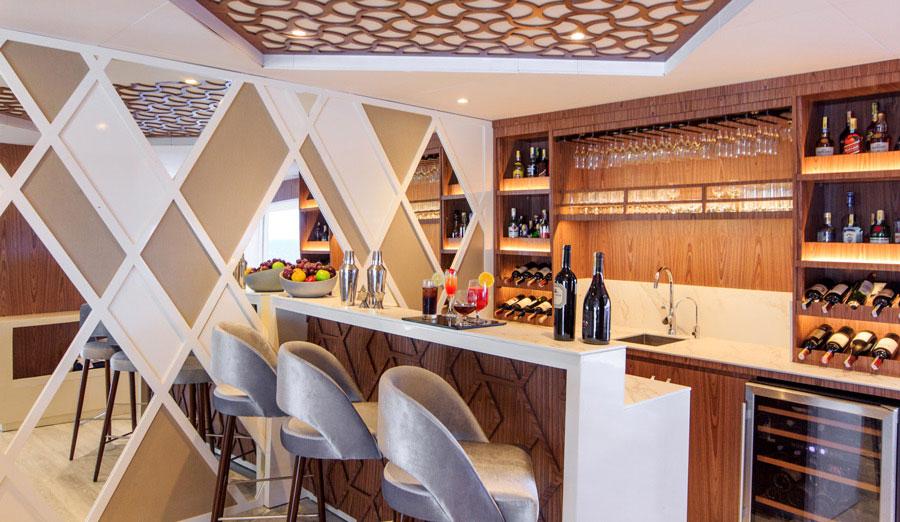 Croisière Elite Galapagos, bar