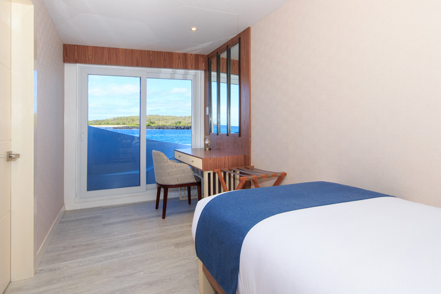 Croisière Elite Galapagos, cabine simple