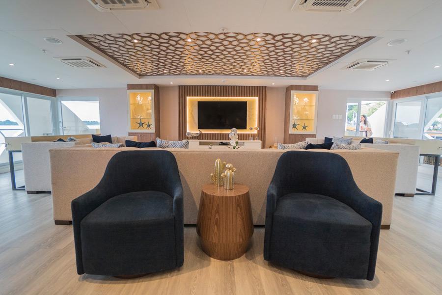 Croisière Elite Galapagos, lounge