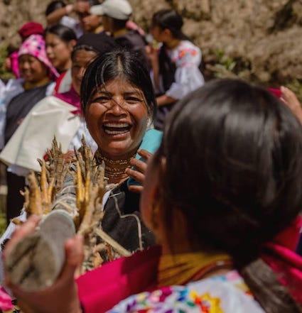 Plats traditionnels à Otavalo, Équateur - ITK Voyage