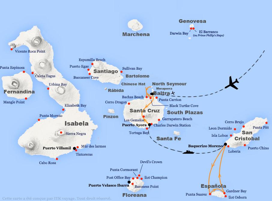 Voyage aux îles Galapagos, San Cristobal